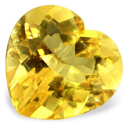 Imitation_yellow_topaz_heart